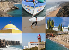 Portugal collage Stock Photography