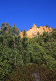 Portugal, Costa da Caparica, parque natural fósil de Arriba Imagenes de archivo