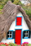 Portugal cottage. Cute cottage in botanical garden of madeira-portugal Royalty Free Stock Photos