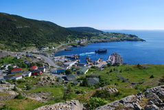 Portugal Cove royalty free stock images