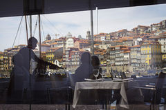 Portugal: Dining in Porto Royalty Free Stock Photography