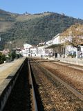 Portugal  Douro train-station   Pinhao   douro-valley Royalty Free Stock Image