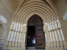 Portugal, Evora, entrance to the Se Cathedral Royalty Free Stock Photography