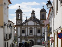 Portugal, Evora, view of the church Stock Photography