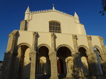 Portugal, Evora, view of the church Royalty Free Stock Photo