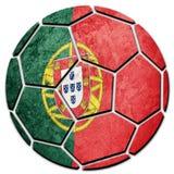 Portugal för medborgare för fotbollboll flagga Portugal fotbollboll Royaltyfri Bild