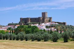 Portel castle Stock Photography
