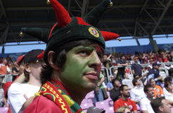 Portugal fan Stock Photography
