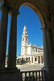 Portugal, Fatima; the famous sanctuary royalty free stock image