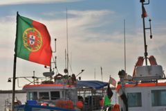 Portugal, Fishermen`s Country Stock Photo