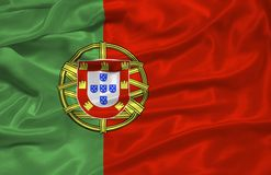 Portugal Flag 3 Stock Image