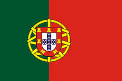 Portugal flag Stock Photos