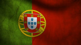 Portugal flag Stock Image