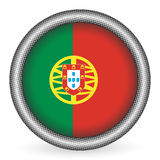 Portugal flag button Royalty Free Stock Photos