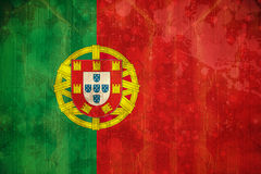 Portugal flag in grunge effect Stock Photo