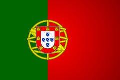 Portugal flag vector Stock Photo