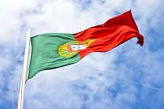 Free Portugal Flag View From Below Royalty Free Stock Photography - 71962147