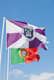 Portugal - Flags Royalty Free Stock Photo