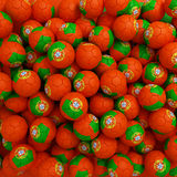Portugal football balls (many). 3D render background Royalty Free Stock Photos