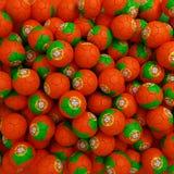 Portugal football balls (many). 3D render background royalty free illustration