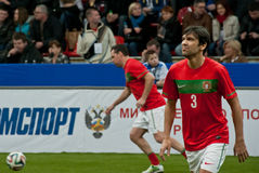Portugal footballer Paolo Ferreira. This picture has been taken on Legends Cup in Moscow having passed in February in this year Royalty Free Stock Photos