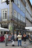 portugal gata Royaltyfri Fotografi