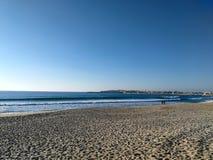Portugal heeft een kustlijn met vele kilometers mooie stranden royalty-vrije stock afbeeldingen