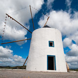 Portugal, histoprical windmill Royalty Free Stock Images
