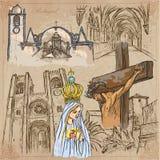 portugal Imagens da vida Bloco do vetor ilustração royalty free