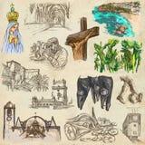 portugal Imagens da vida Freehands ilustração royalty free