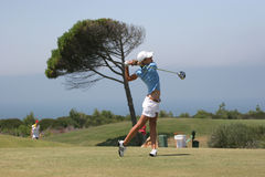 Portugal ladies Open 2007, Oitavos Royalty Free Stock Image
