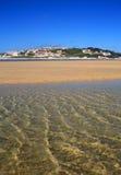 Portugal, Lagoa de Obidos or Obidos Lagoon. Royalty Free Stock Images
