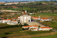 Portugal landscape, Obidos Stock Photo