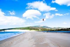 Portugal latawca surf Obraz Royalty Free