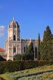 Portugal, Lisboa, monastério de Hieronymites Imagem de Stock