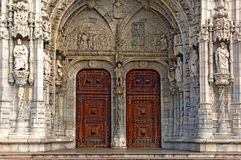 Portugal, Lisbon: architecture, Jeronimo monastery Royalty Free Stock Photography