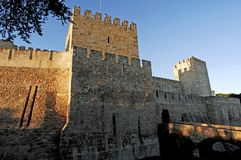 Portugal, Lisbon: Castle of Lisbon Royalty Free Stock Image