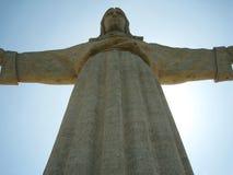 Portugal, Lisbon: Cristo-Rei. Is a Catholic monument overlooking Lisbon Royalty Free Stock Photo