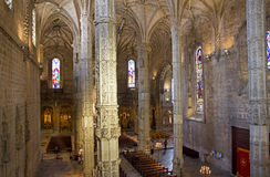 Portugal. Lisbon. Interior of Church Royalty Free Stock Photography