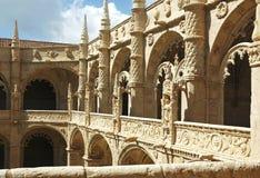 Portugal Lisbon Jeronimos monastery Stock Photos