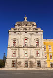 Portugal, Lisbon, Mafra. The National Palace and Franciscan Convent. Stock Photo