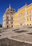 Portugal, Lisbon, Mafra. The National Palace and Franciscan Convent. Royalty Free Stock Image