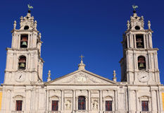 Portugal, Lisbon, Mafra. The National Palace and Franciscan Convent. Stock Photos