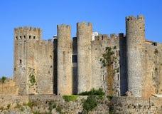 Portugal, Lisbon. Obidos castle. Stock Images