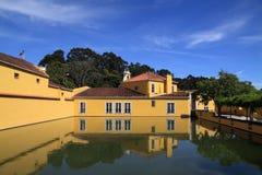 Portugal Lisbon Oeiras Historic Mansion Stock Photos