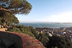 Portugal, Lisbon; panoramic view Royalty Free Stock Photo