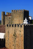 Portugal, Lisbon. Picturesque, medieval town of Obidos. Stock Photo
