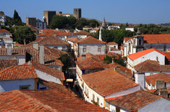 Portugal, Lisbon. Picturesque, medieval town of Obidos. Stock Photography