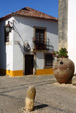 Portugal, Lisbon. Picturesque, medieval town of Obidos. Stock Images
