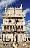Portugal, Lisbon:The tower of  Belem Royalty Free Stock Image
